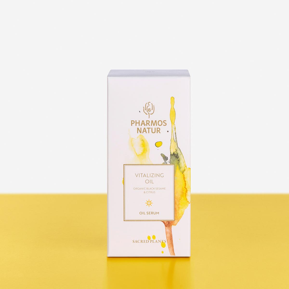 Verpackung Vitalizing Oil Produktbild