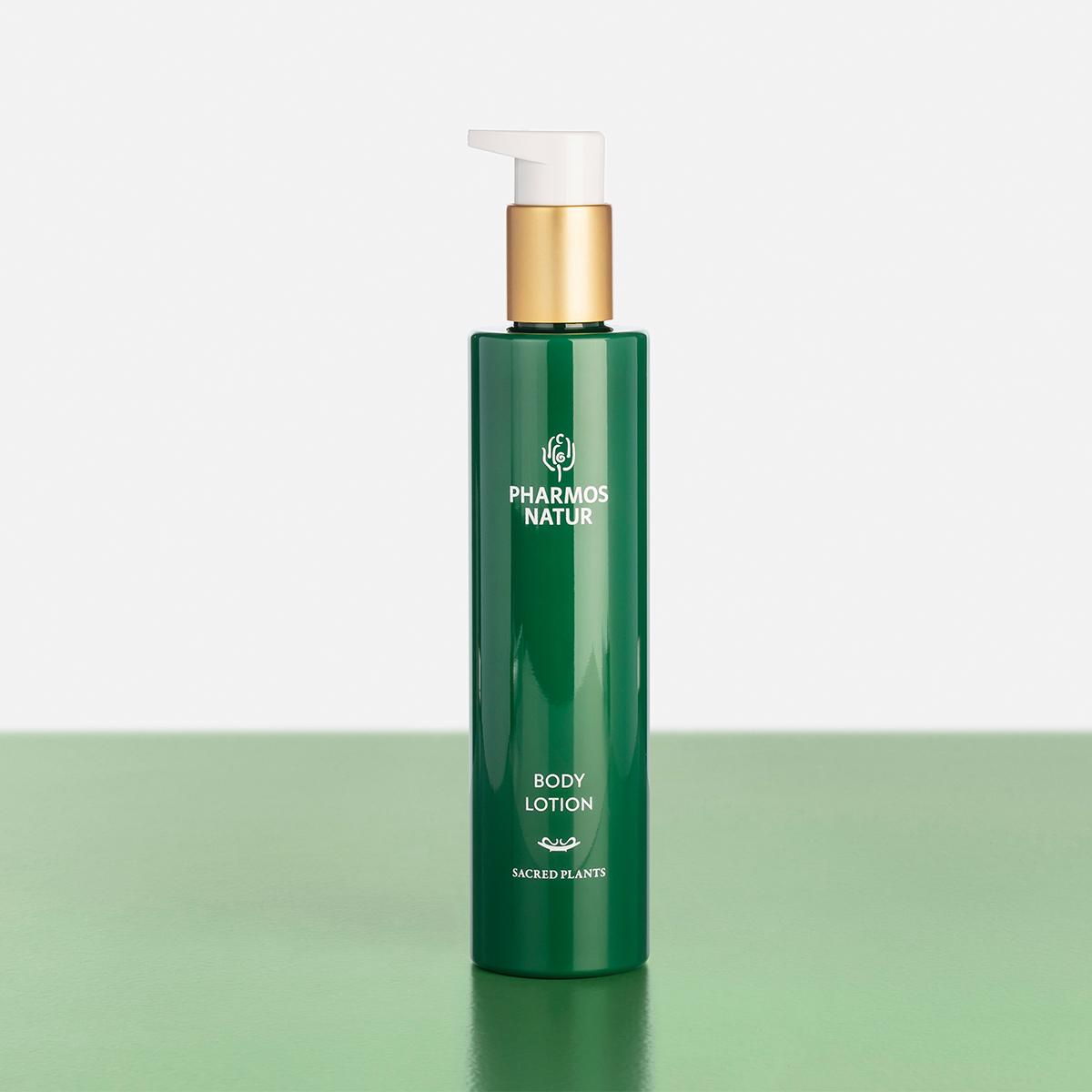 Grüne Body Lotion Produktbild