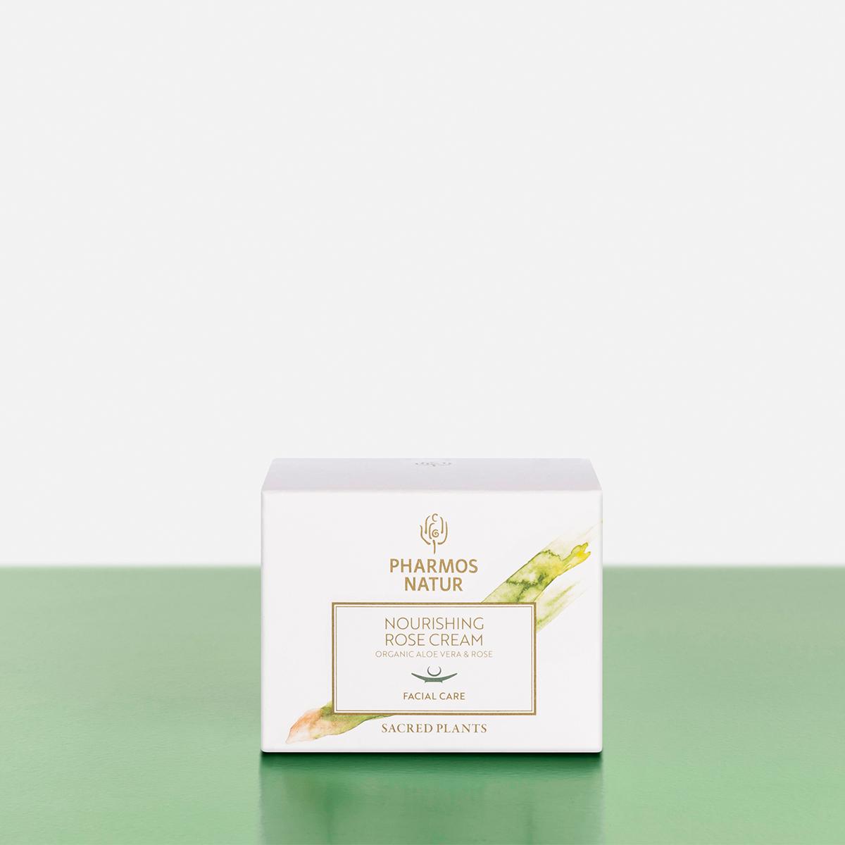 Verpackung nourishing rose cream Produktbild