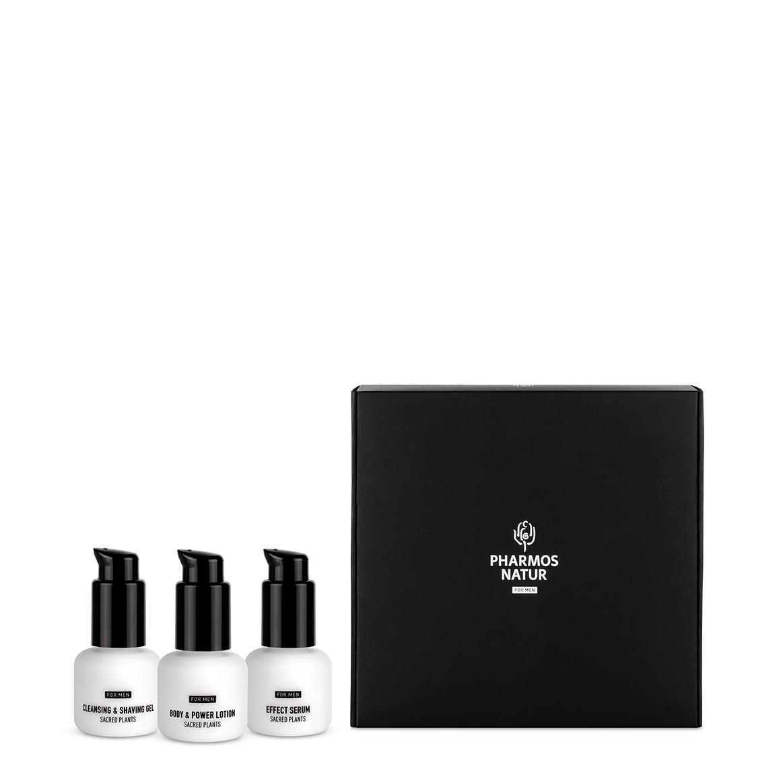Geschenk-Set-Men klein drei Produkte ohne Hintergrund