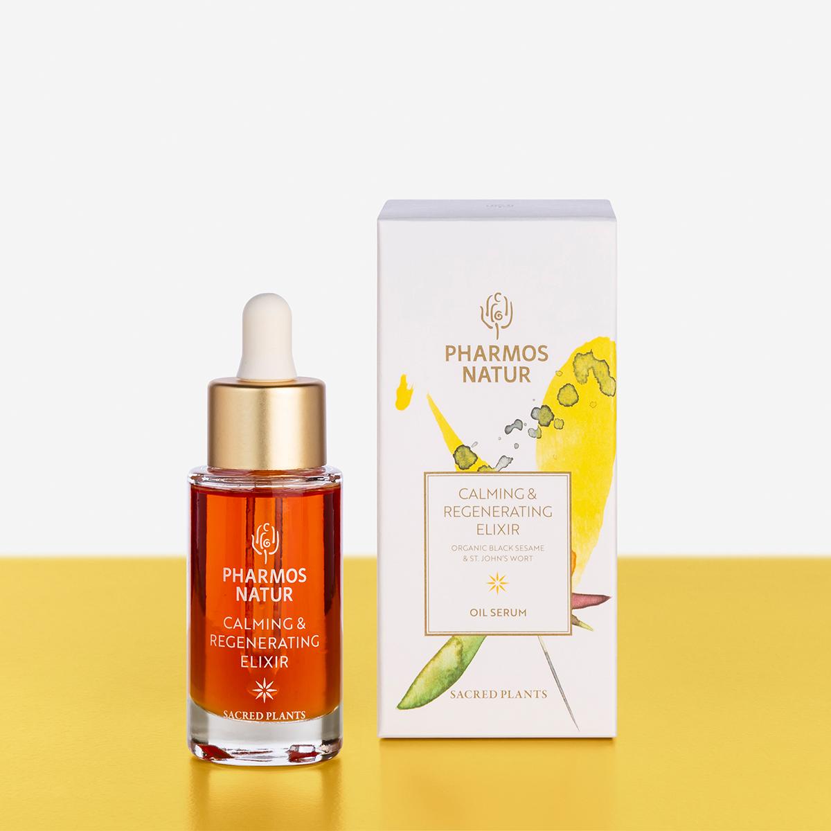 orangenes calming and regenerating elixir Produktbild