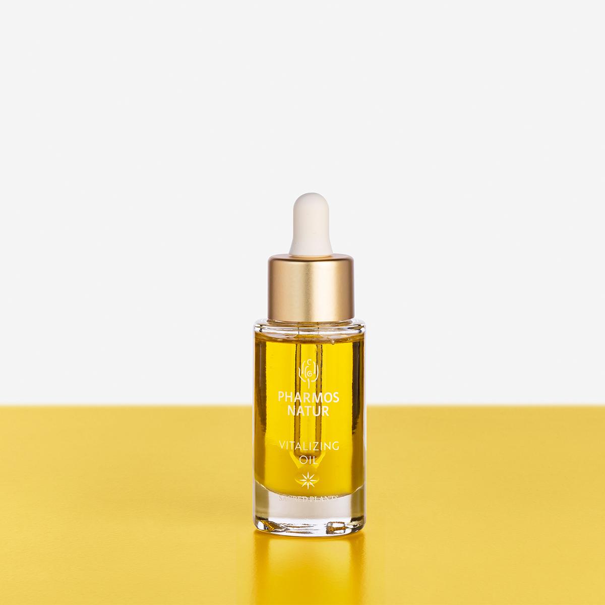 gelbes Vitalizing Oil Produktbild