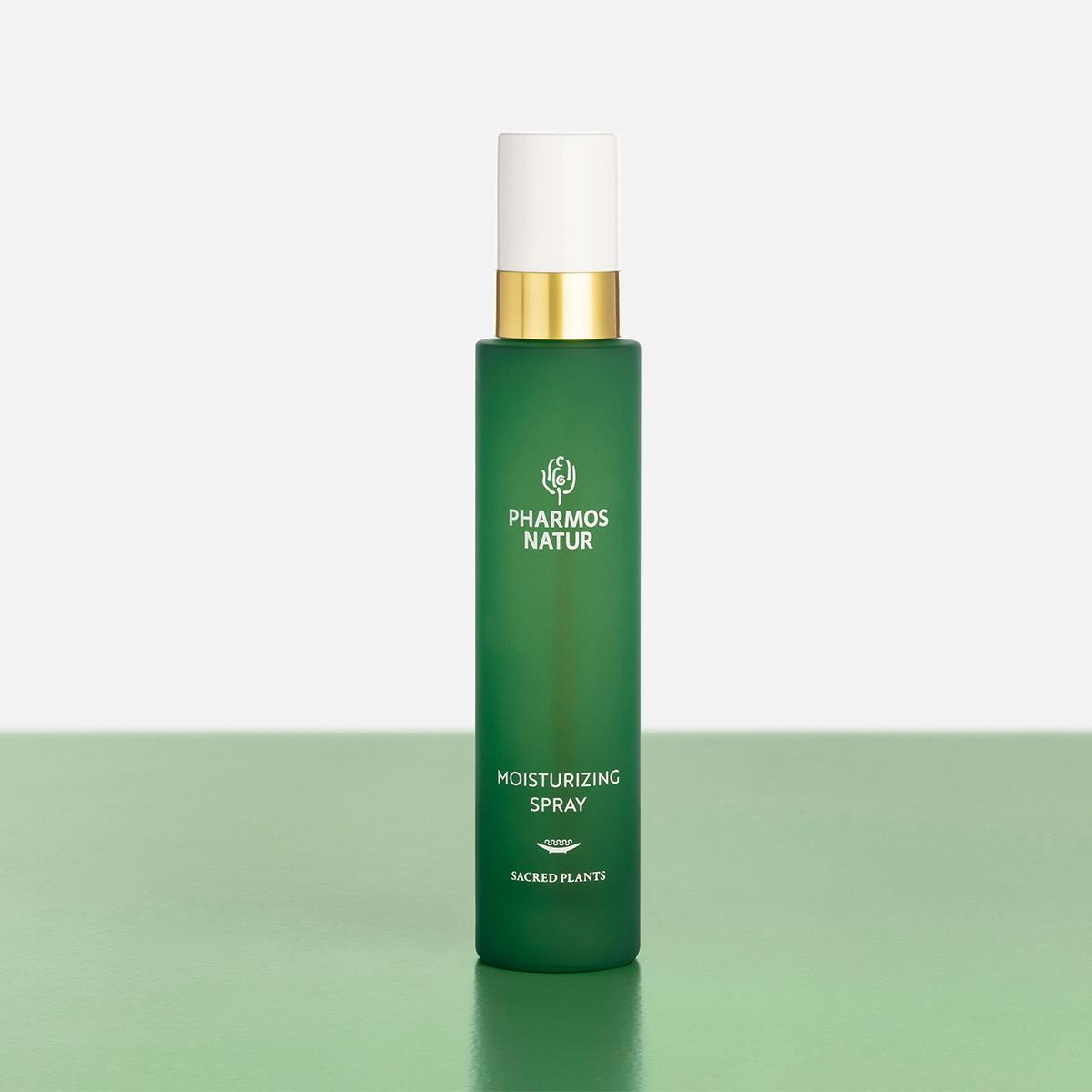 grünes Moisturizing Spray Produktbild