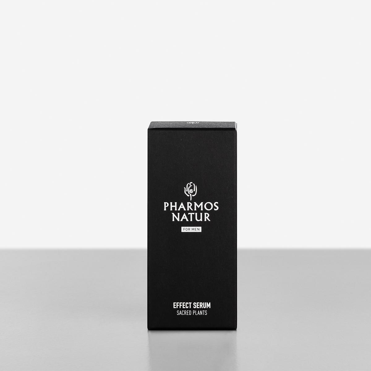 schwarze Verpackung Effect Serum Produktbild