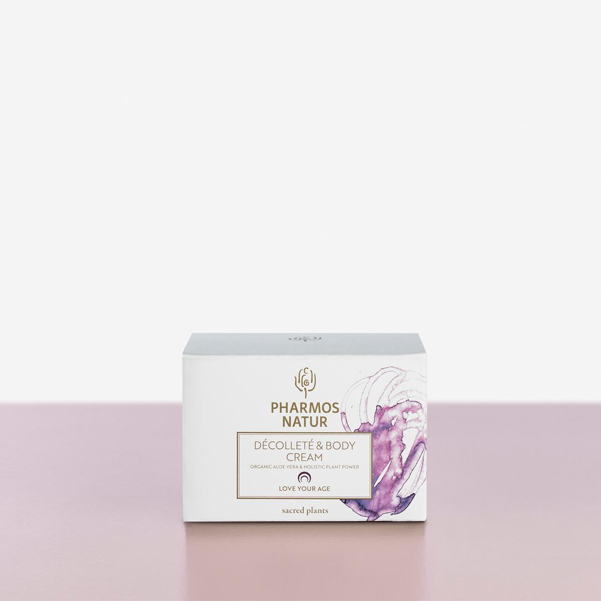 Verpackung Decollete and Body Cream Produktbild
