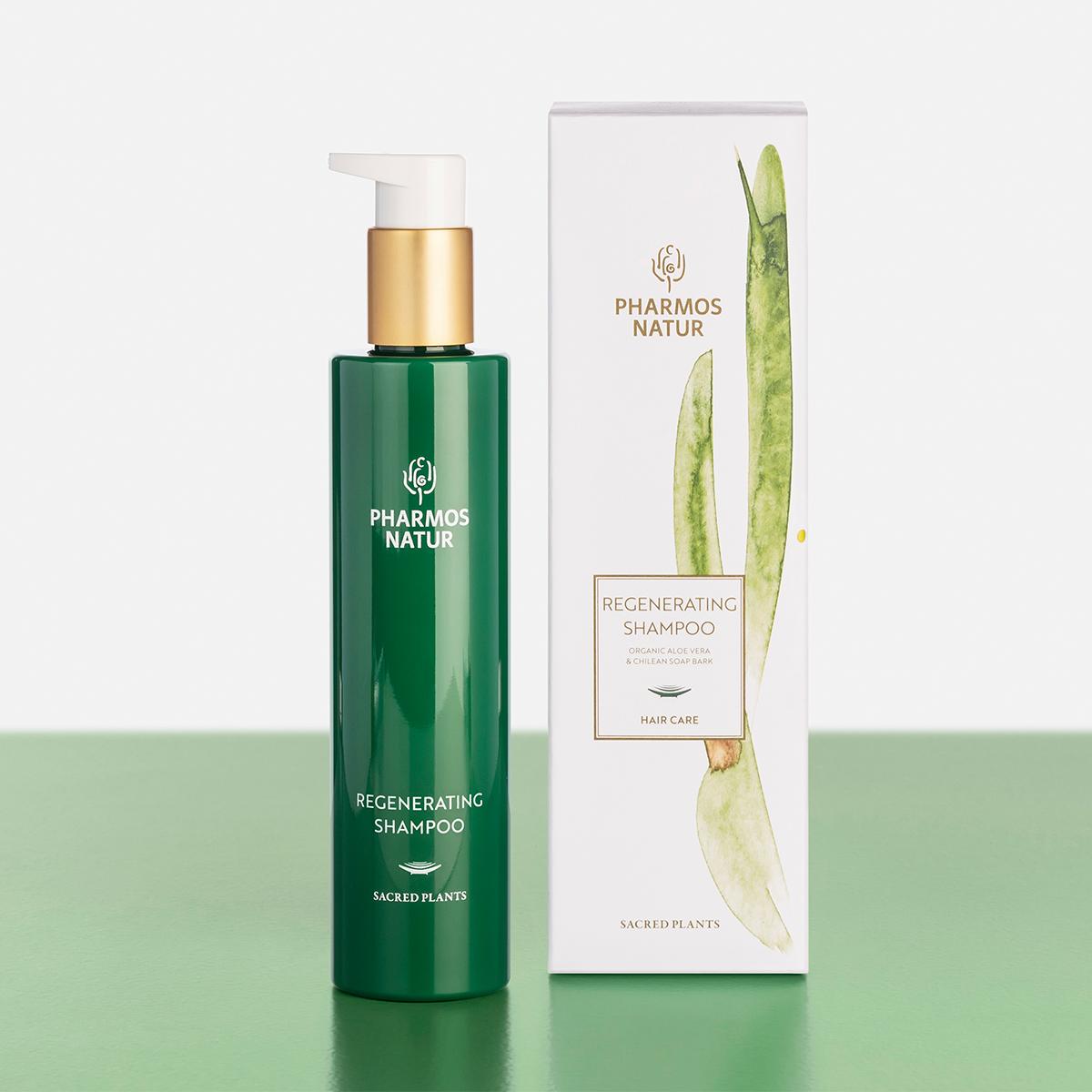grünes Regenerating Shampoo Produktbild