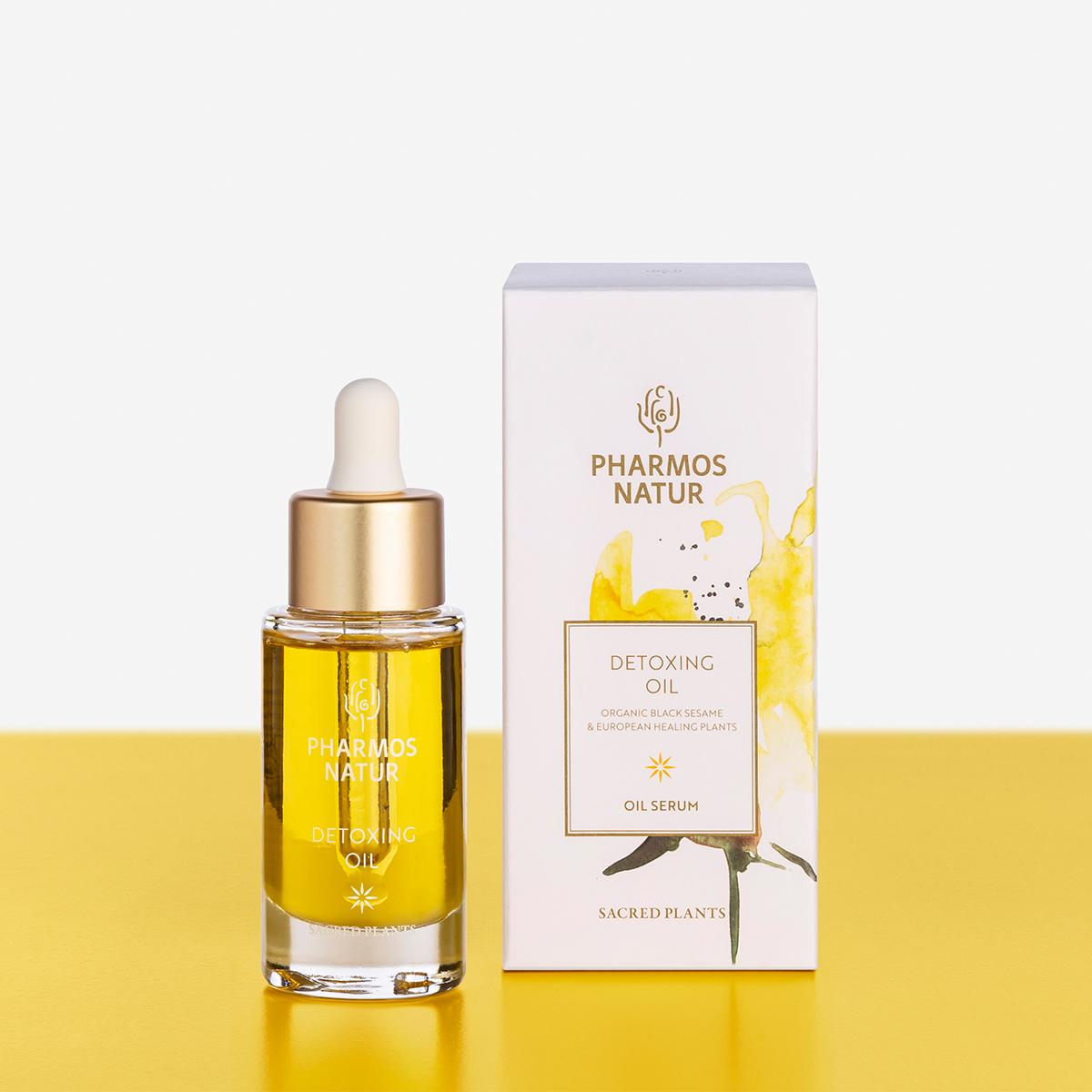 Gelbes Detoxing Oil Produktbild