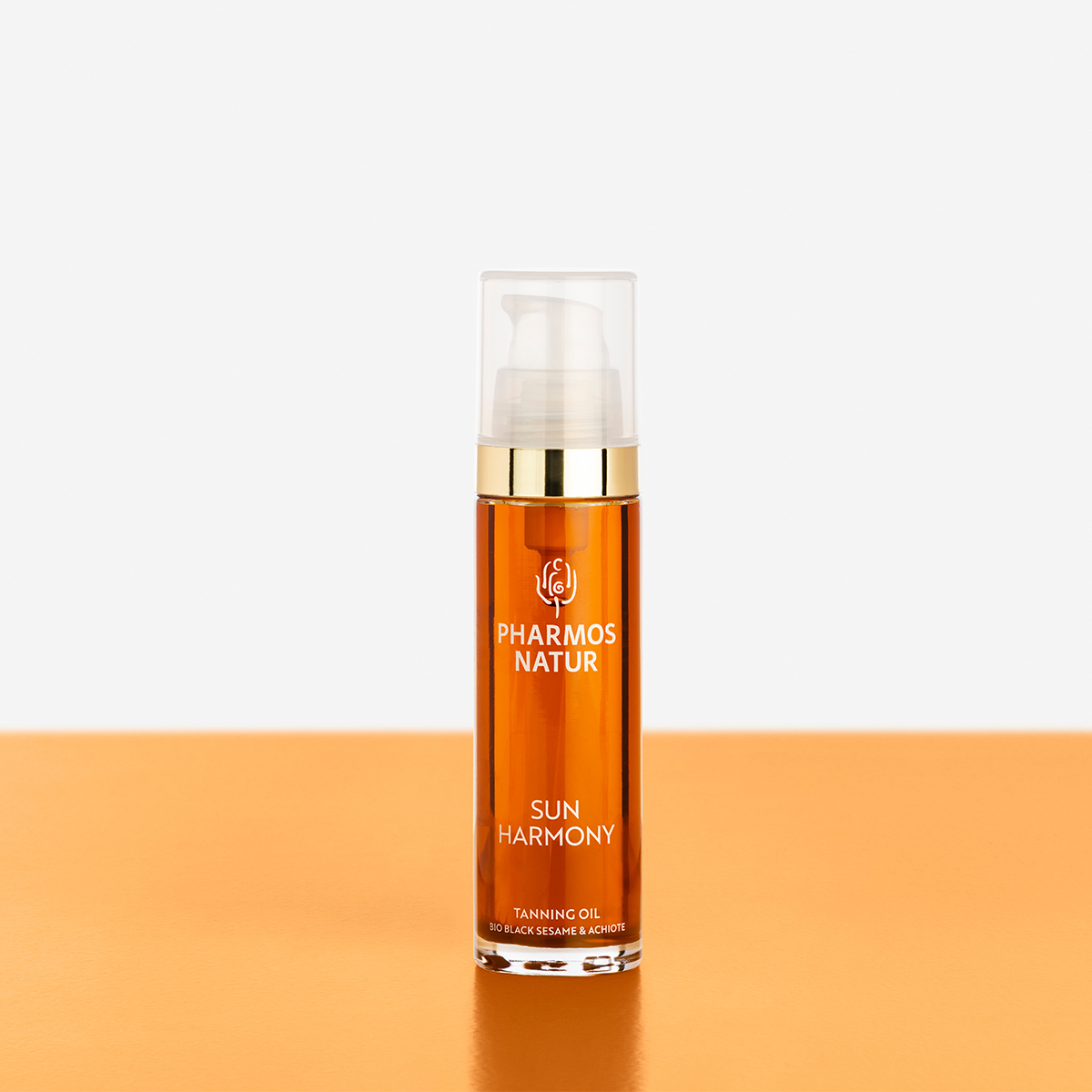orangenes Tanning Oil Produktbild