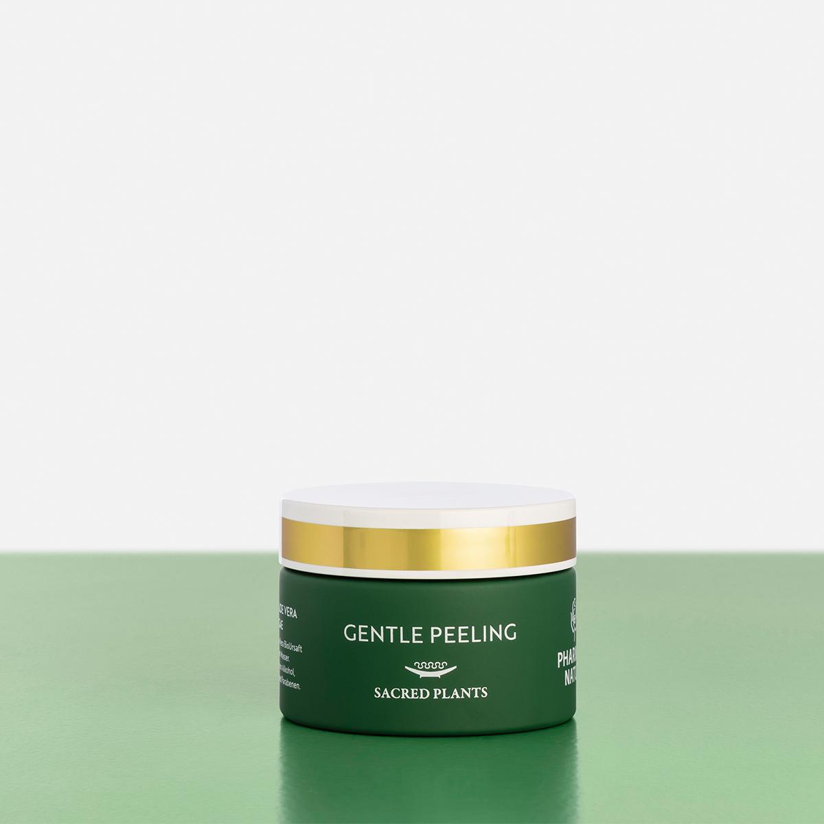 Grünes Gentle Peeling Produktbild