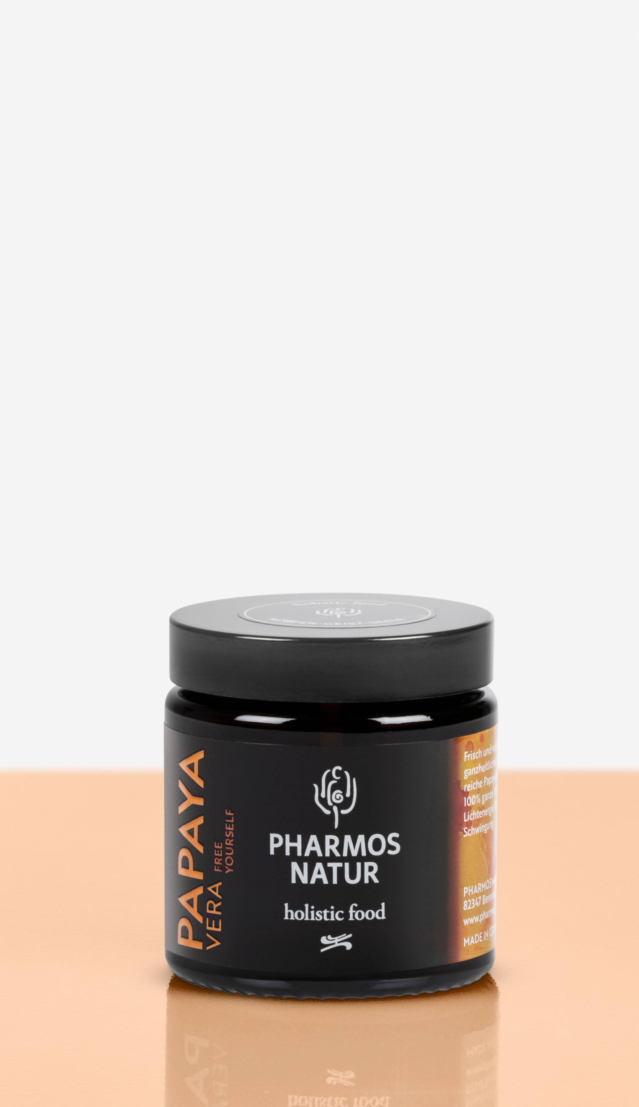 Papaya Vera dunkler Behälter Produktbild