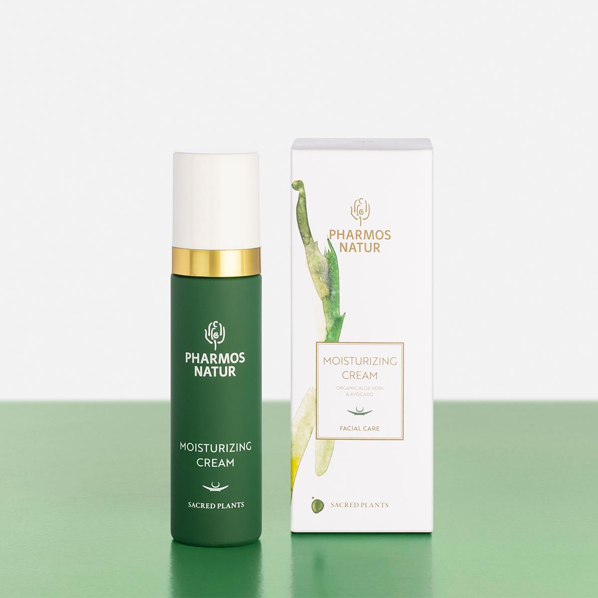 grüne Moisturizing Cream Produktbild