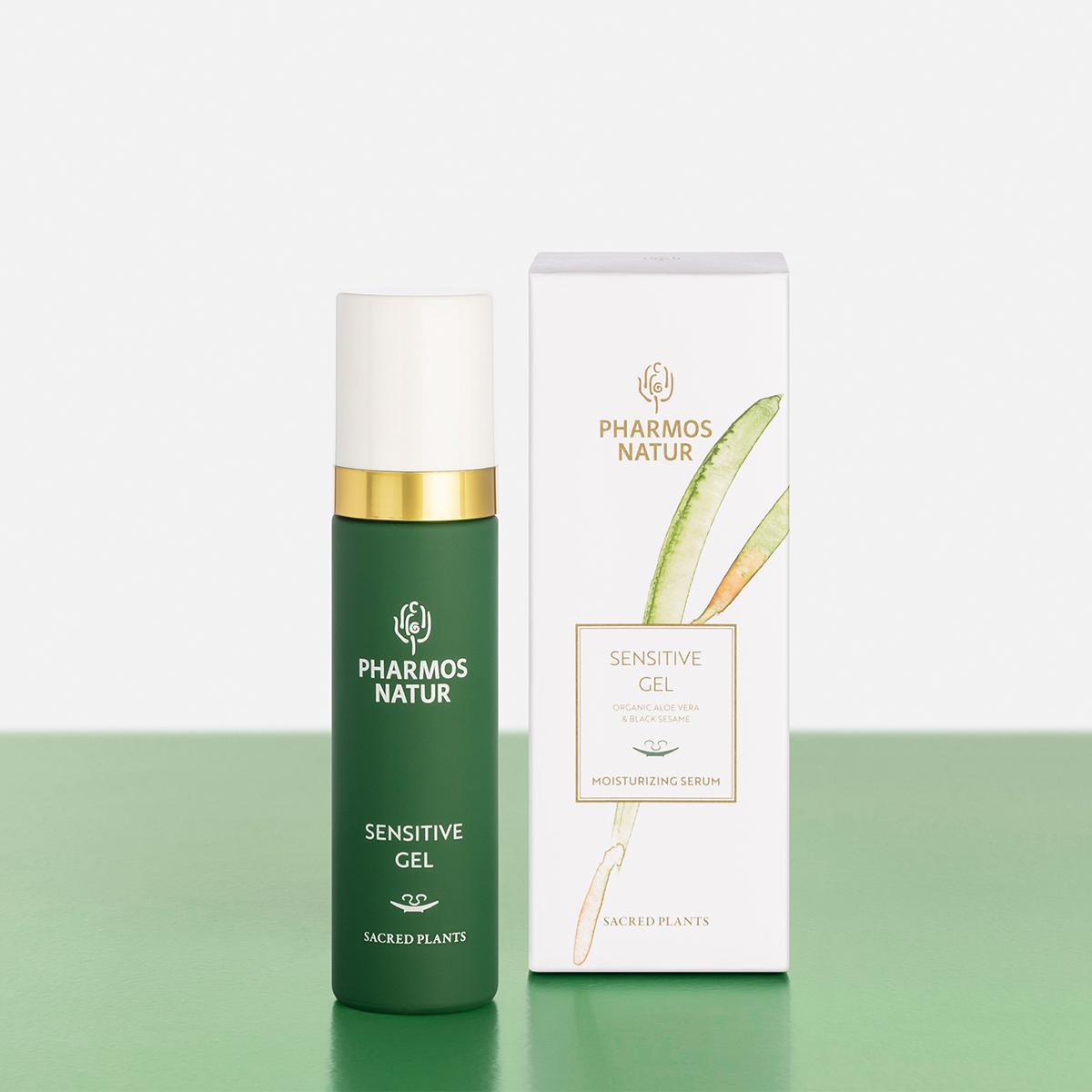 grünes Sensitive Gel Produktbild