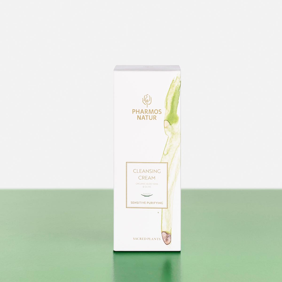Verpackung Cleansing Cream Produktbild