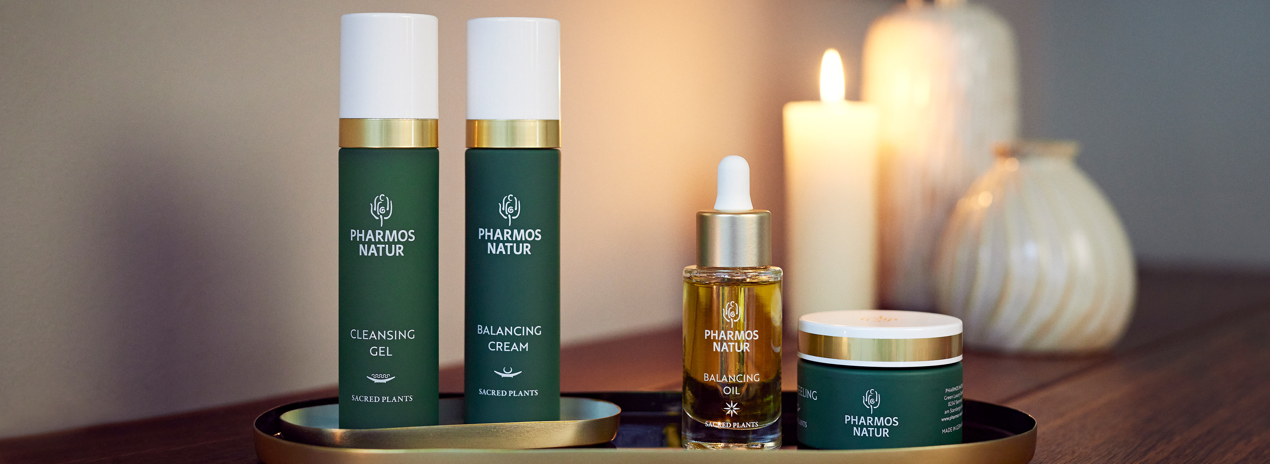 Pharmos Natur Produkte für den Hauttyp Mischhaut