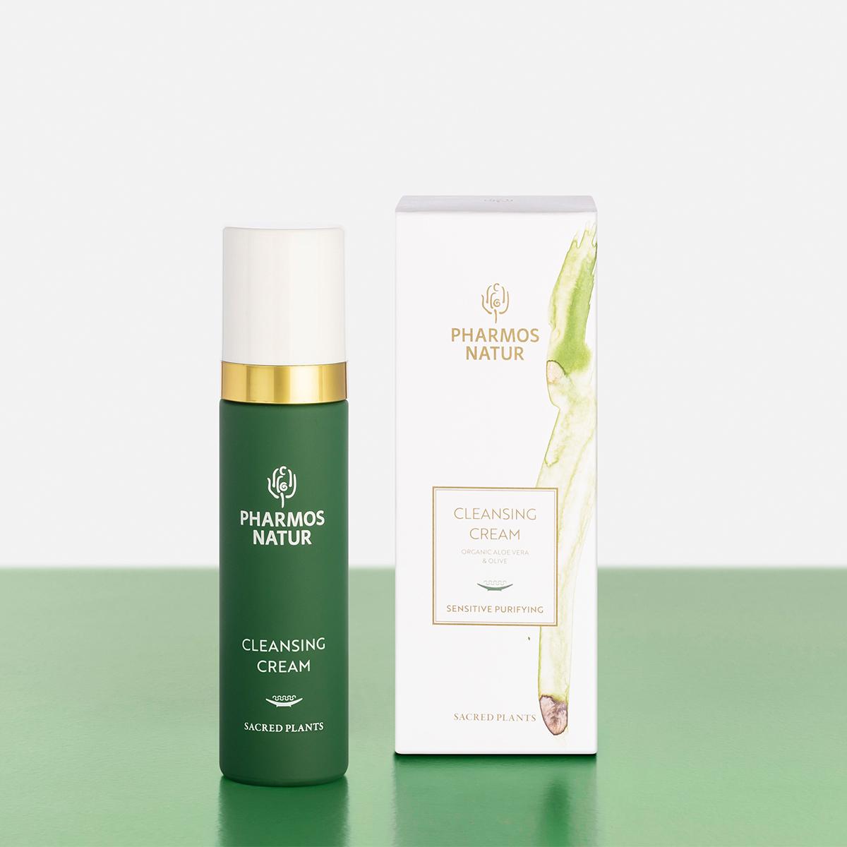 grüne Cleansing Cream Produktbild