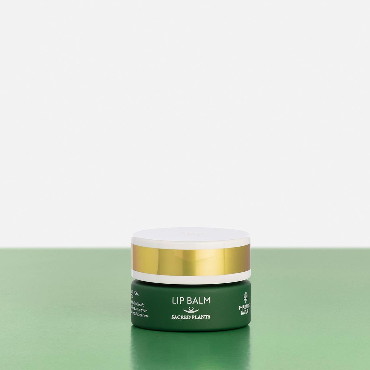 grüner Lip Balm Produktbild