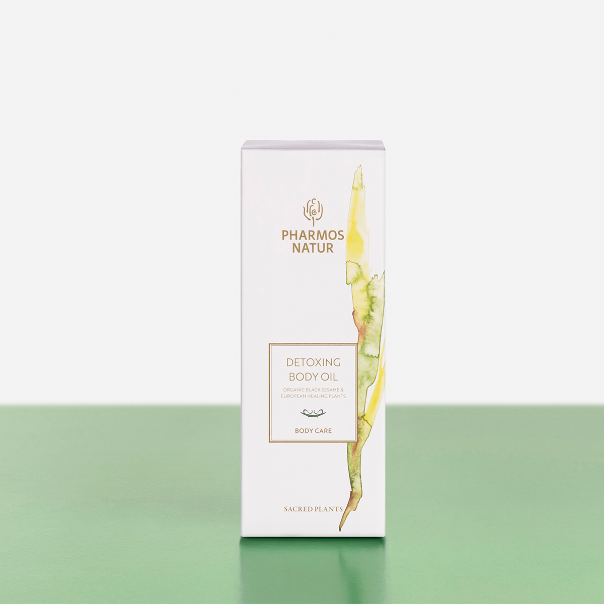 Verpackung Detoxing Body Oil Produktbild