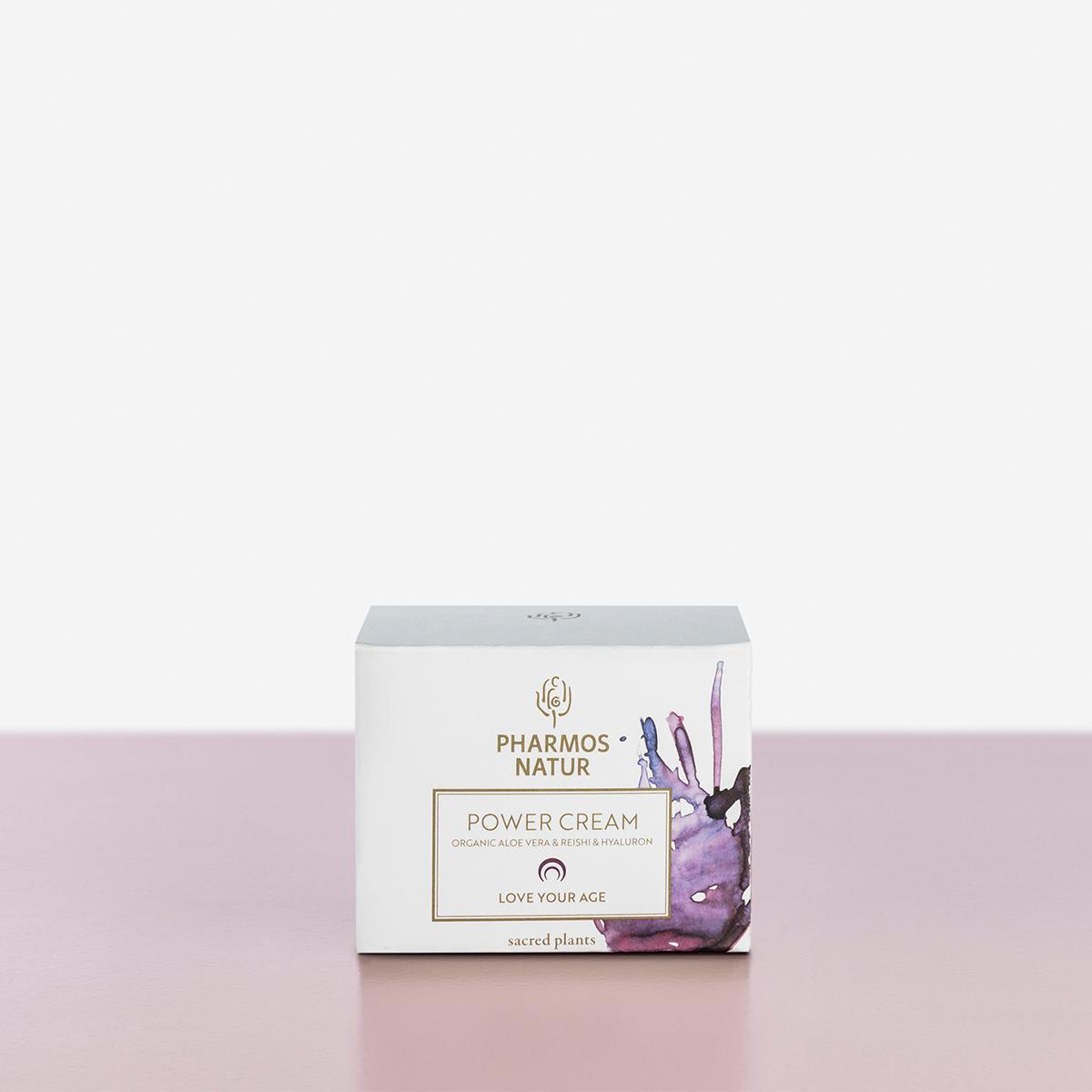 Verpackung Love your age Power Cream Produktbild