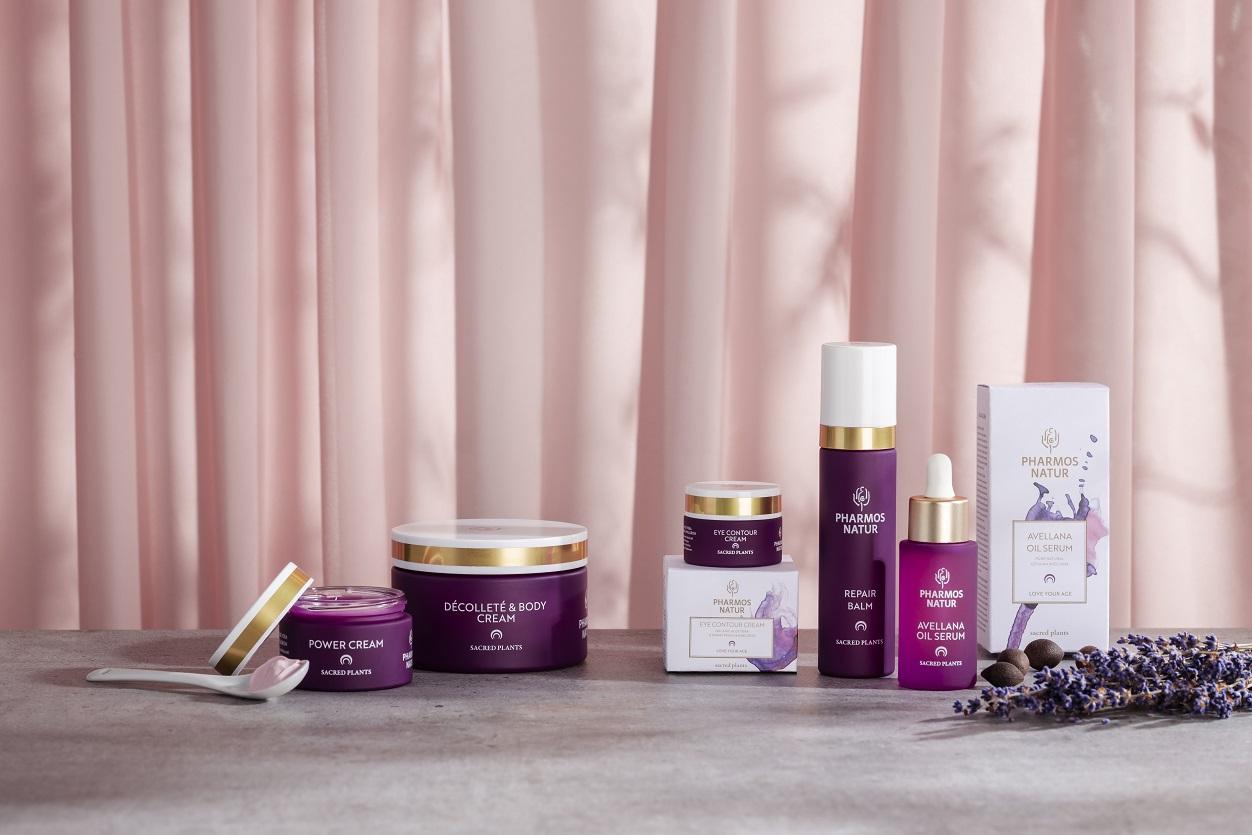 Produktlinie LYA mit Power Cream, Décolleté & Body Cream, Eye Contour Cream, Repair Balm und Avellana Oil Seurm