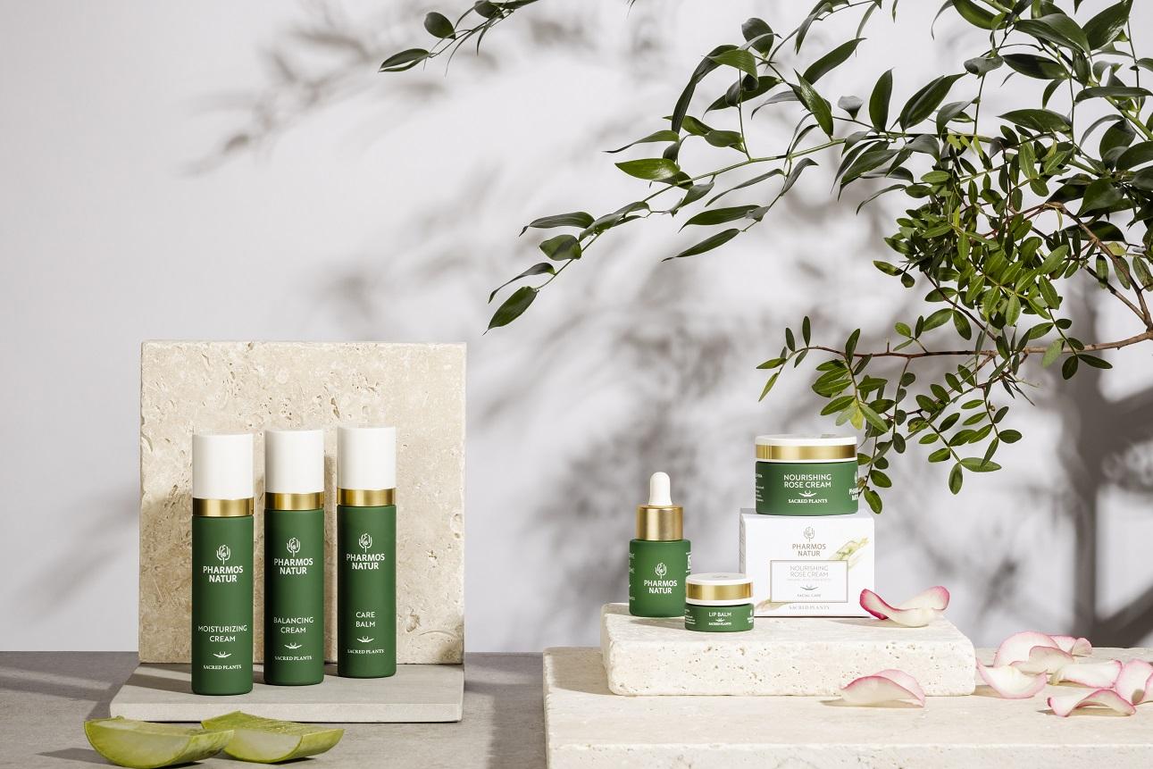 Produktlinie Facial Care mit Moisturizing Cream, Balancing Cream, Care Balm, Lip Balm und Nourishing Rose Cream